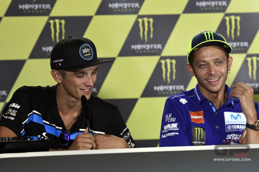 Motogp Rossi This Time Luca Is In A Better Position Than I Am Gpone Com