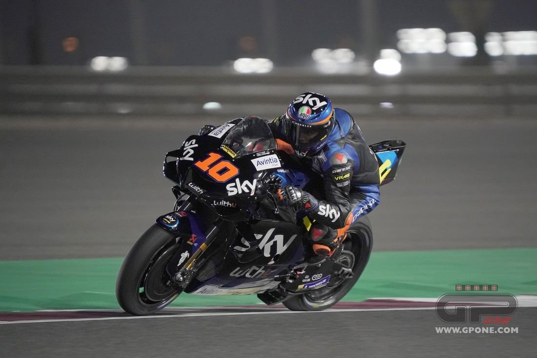 Motogp Baptism Of Fire The First Photos Of Luca Marini On The Ducati Gpone Com